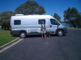 South Coast  NSW in Motorhome