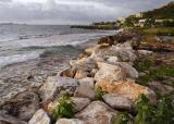 Tortola Breakwater at Dawn