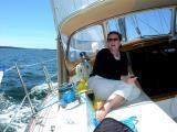 Sailing Towards The Merchant Row