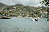 Grenada Harbor After Hurricane Ivan