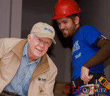 Habitat for Humanity and Jimmy Carter Work Project