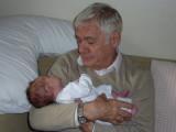 Cuddles with Granddad