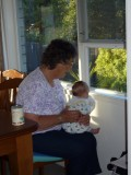 Hanging out with Grandma