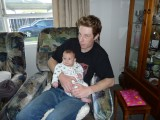 Meeting cousin Dylan