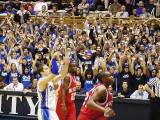 Greg Paulus completes a free throw