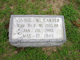 Minnie Kate Carter (1902-1945)