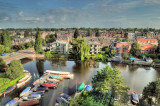 Streets-Canals of Amsterdam: Summer, 2009 - HDR