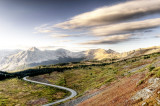 Cottonwood Pass, looking east