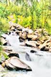 Cascade Falls near Mt. Princeton