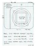 REAL 6x6 FORMAT DIGITAL CAMERA  (idea sketch)