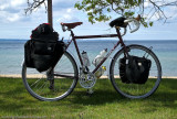 297  John - Touring Michigan - Surly Long Haul Trucker touring bike