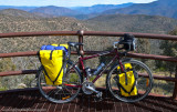 303    Chris - Touring Australia - Vivente World Randonneur touring bike