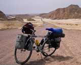 304    Jim - Touring Egypt - Bruce Gordon Rock n Road touring bike