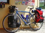 025  Mark - Touring through Hungary - 97 Cannondale touring bike