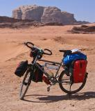 037  Marc - Touring through Jordan - VSF T400 touring bike