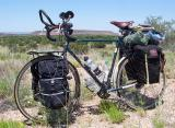 041  Patrick - Touring through New Mexico - Urbanite Touring touring bike