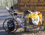 046  Joy - Touring Indiana USA - Trek 1000C touring bike