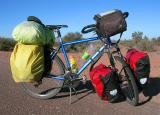 064  Kurt - Touring through Argentina - Velo Stern touring bike