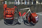077  Marco - Touring Switzerland - Devinci Caribou touring bike