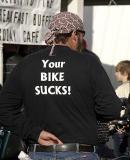 Bike Sucks biker