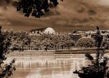 L'Opéra vue du Rhône