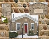 Cobblestone Houses in Western New York