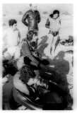 Zvika Lavah gives briefing to Diving course in Neweiba 1972