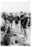 Diving course in Neweiba 1972