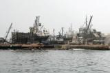 Drydock for fishing boats