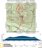 Bald Knob and Turtleback Mtn. Hike - 09/29/09