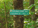 Turtleback Mtn. Trail Sign