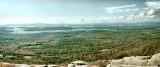 Panorama from Bald Knob Summit