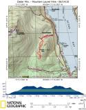 Cedar Mountain Area Hike - 06/14/10