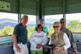 Our Group at Top of Tower