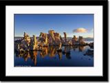 Tufa and its Reflection at Sunrise
