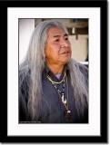 Portrait of an Acama Indian