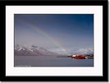 Rainbow at Longyearbyen