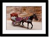 Horse Cart Carrying Tourists