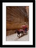 Horse Cart on Roman Paved Valley Floor