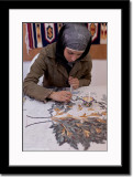 Demonstration of Mosaic Making