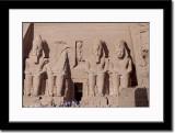 Four Seated Collosal Statue of Ramses II