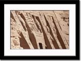 Alternating Statues of Ramses II and Nefertari