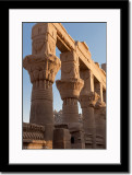 Pillars at Philae Temple