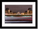 Traffic in Front of the Louvre