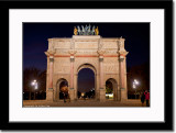 Victory Arch Near the Louvre