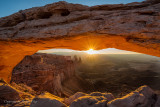 Gorgeous Sunrise at Mesa Arch