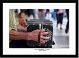 The Hand of an Accordionist