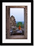 Framed Monk at Bakong