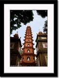 Pagoda at Tran Quoc Temple