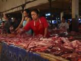 Meat stalls Vientiane market.jpg